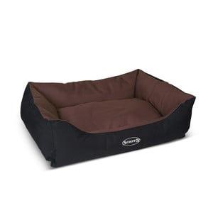 Psí pelech Expedition Bed L 75x60 cm, čokoládový