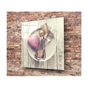 Sklenený obraz Insigne Herneno, 30 × 30 cm