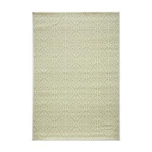 Zelený koberec Nourison Baja Rallo, 229×160cm