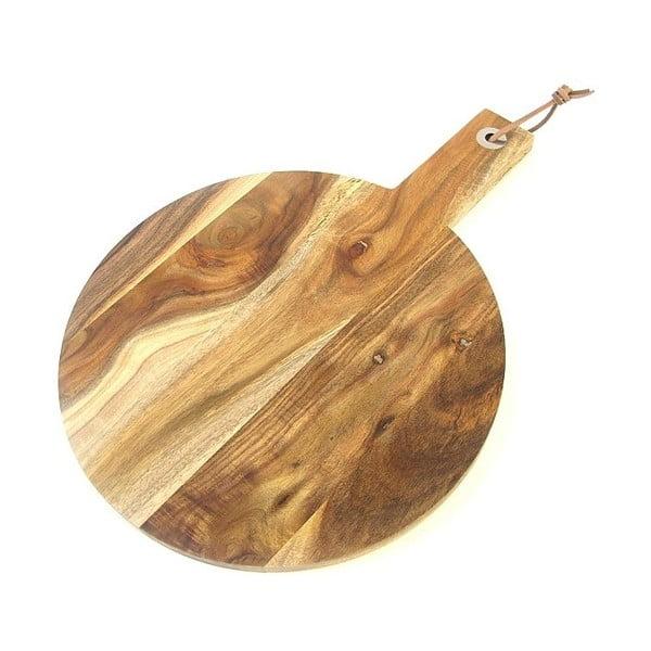 Doštička na krájanie z agátového dreva Natura, 40x29 cm