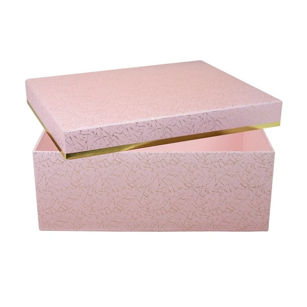 Úložná krabica Stockholm, ružová