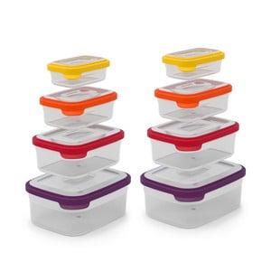 Kompaktná sada 8 misiek na jedlo Nest