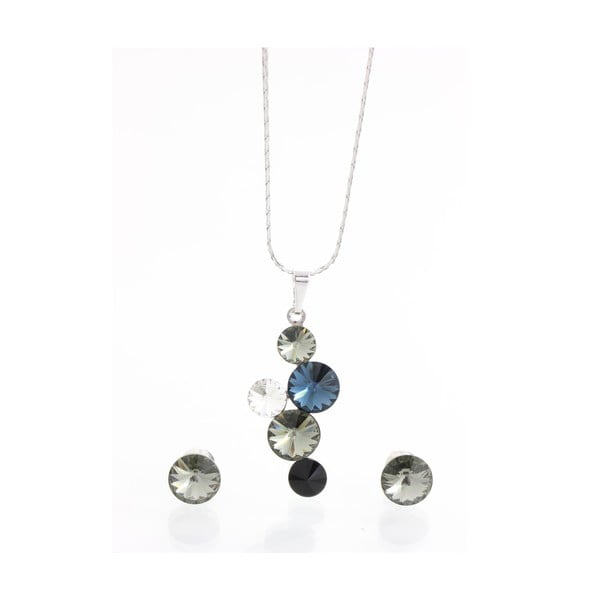 Set náhrdelníka a náušnic so Swarovski Elements Laura Bruni Angesan