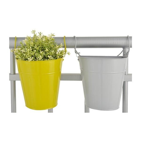 Sada 2 závesných kvetináčov na balkón Esschert Design Magic, šírka 19 cm