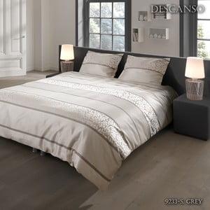 Obliečky  Descanso Grey Night, 140x200cm