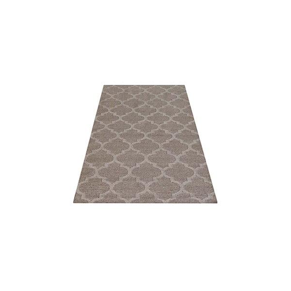 Vlnený koberec Kilim no. 809, 120x180 cm, prírodný