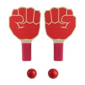 Set 2 pingpongových pálok a loptičiek Le Studio Fist Shape Rackets