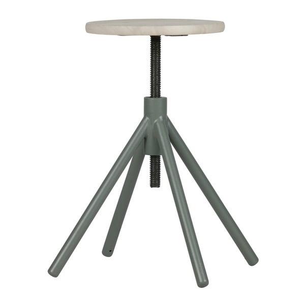 Drevená stolička so zelenými nohami WOOOD Lily