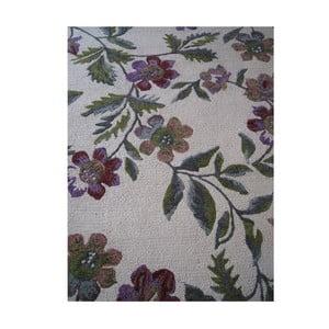 Vlnený koberec Florid Green, 140x200 cm