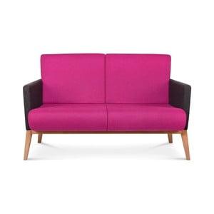 Ružová sedačka Fameg Arne