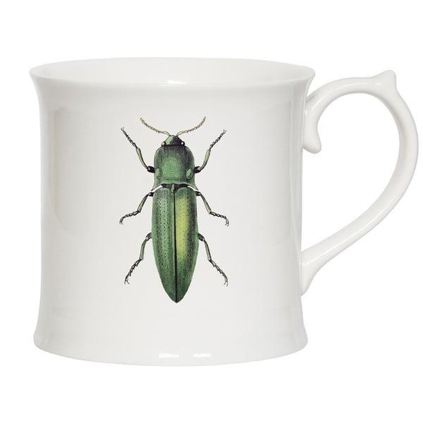 Hrnček Curious Green Beetle