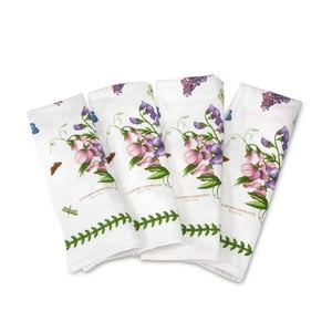 Sada 4 ks bavlnených obrúskov Portmeirion, šírka 45 cm