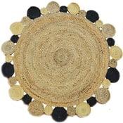 Okrúhly ručne tkaný koberec Bakero Roberta 53, 120 cm