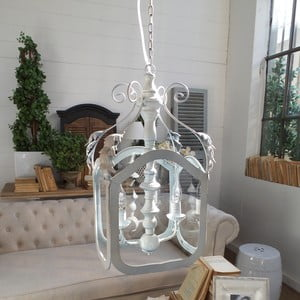 Stropné svietidlo s 2 svetielkami Orchidea Milano Antique