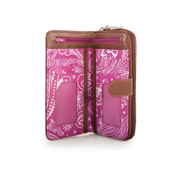 Peňaženka Skpa-T Purple, 18x9 cm