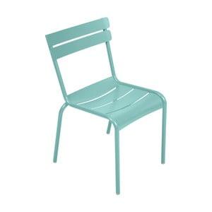 Modrá záhradná stolička Fermob Lu×embourg