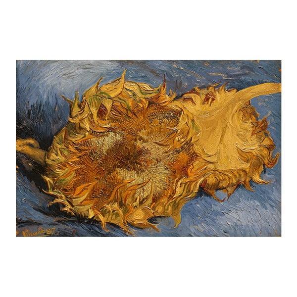 Obraz Vincenta van Gogha - Sunflowers 2, 90x60 cm