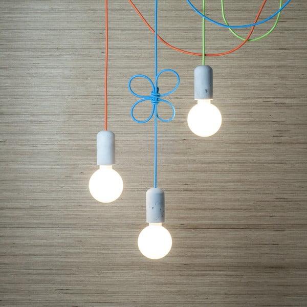 Tmavo sivé svietidlo od Jakuba Velínskeho, 3 m