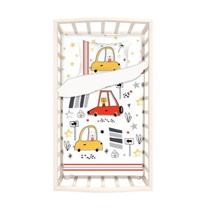 Detské bavlnené obliečky s plachtou na jednolôžko Apolena Mirra Mito, 100 x 150 cm