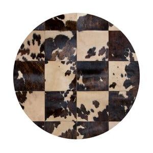Kožený koberec Pipsa Blidecco, ⌀150 cm