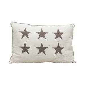 Vankúš Grey Stars, 60x40 cm