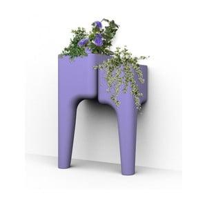 Dizajnový kvetináč KIGA Small 88x34 cm, levanduľový