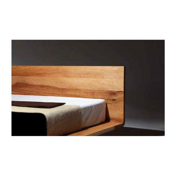 Posteľ z olejovaného jelšového dreva Mazzivo Mood, 160×200 cm
