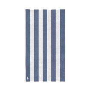 Modro-biela bavlnená osuška Seahorse Vamos, 180×100cm