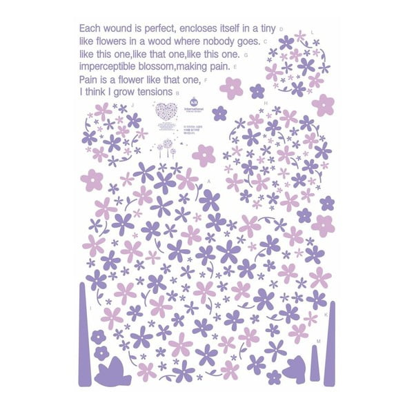 Samolepka Fanastick Purple Heart