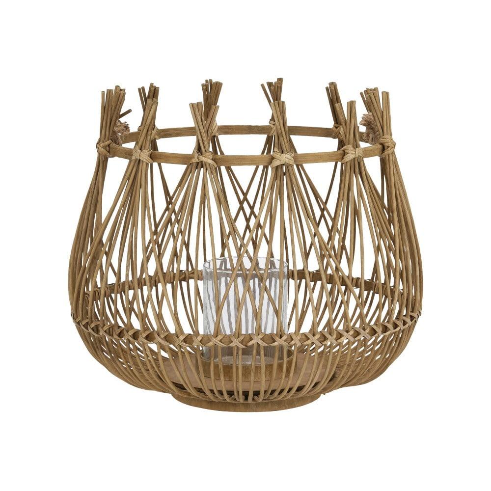 Bambusový lampáš A Simple Mess Armt, ⌀ 41 cm
