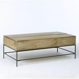 Konferenčný stolík z masívneho mangového dreva Massive Home Jenny, 90 x 40 cm