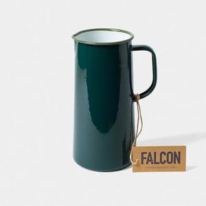 Tmavozelený smaltovaný džbán Falcon Enamelware TriplePint, 1,704 l