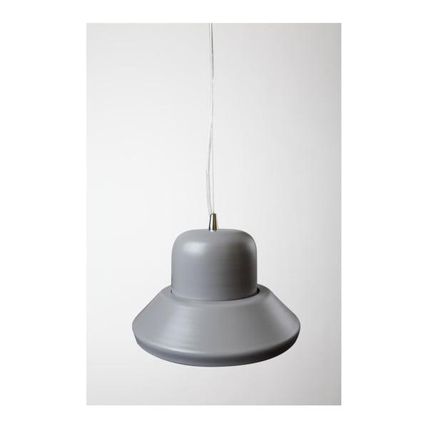 Závesné svetlo Brambla Prima Maxi, sivé