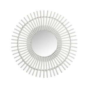Biele nástenné zrkadlo J-Line Bars