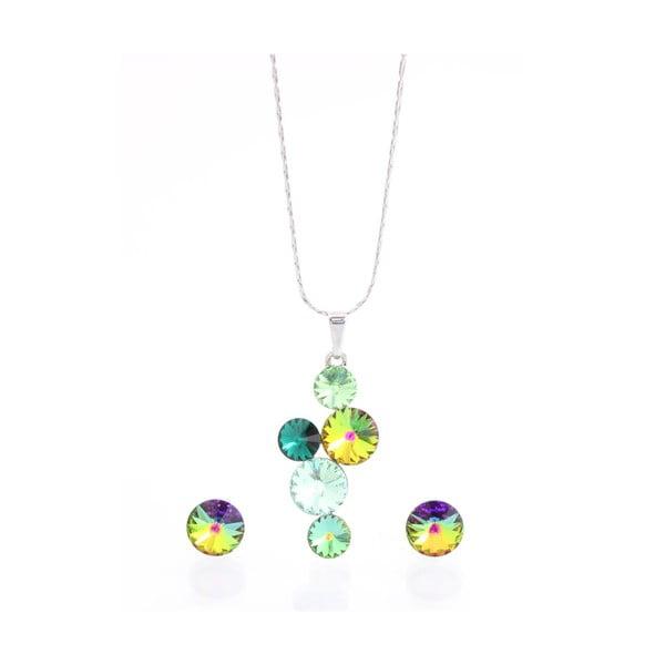 Set náhrdelníka a náušníc s krištáľmi Swarovski Elements Laura Bruni Songa