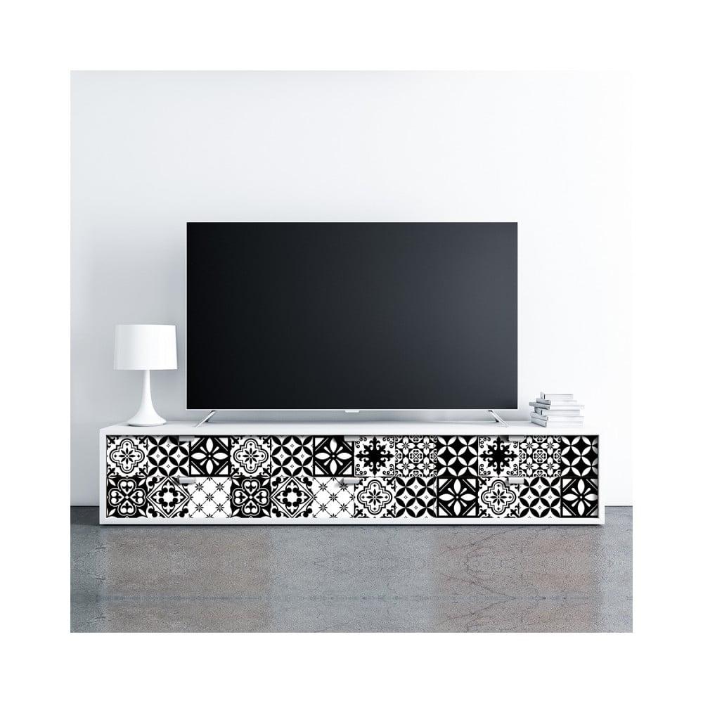 Sada 30 samolepiek na nábytok Ambiance Tiles Stickers For Furniture Cynthia, 20 × 20 cm