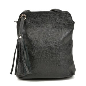 Čierny dámsky kožený batoh Carla Ferreri Harro