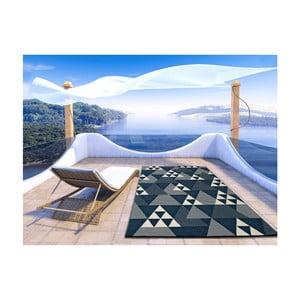 Tmavomodrý koberec vhodný aj do exteriéru Universal Clhoe, 160 × 230 cm