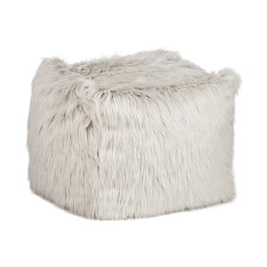 Sedací vak Bean Bag Fur Light Grey