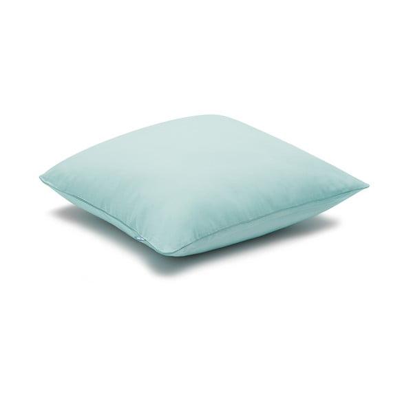 Mentolovomodrá obliečka na vankúš Mumla Basic, 70 × 80 cm