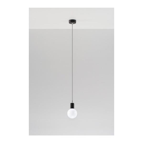 Sivé stropné svetlo Nice Lamps Bombilla