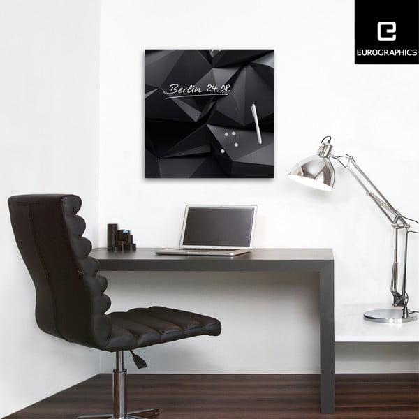 Magnetická tabuľa Graphite Crystal, 50 x 50 cm