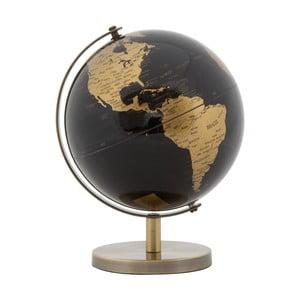 Dekorácia v tvare glóbusu Mauro Ferretti Globe Bronze, ø 13 cm