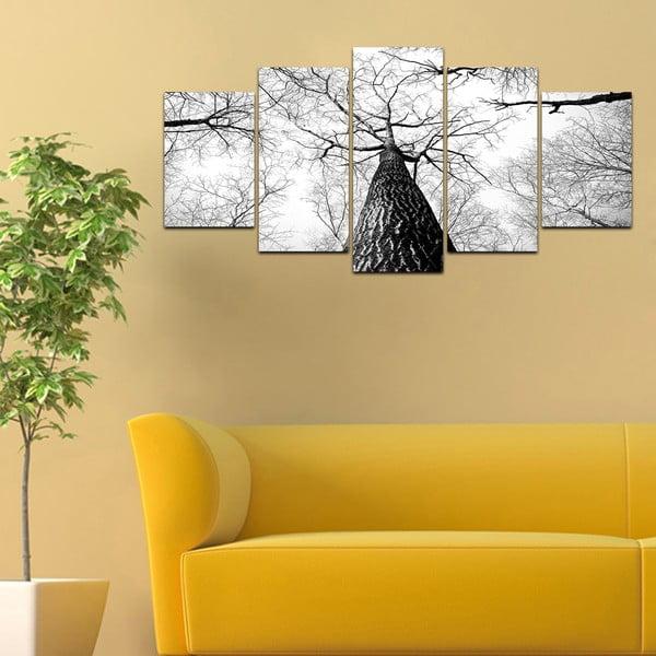 Viacdielny obraz Black&White no. 25, 100x50 cm