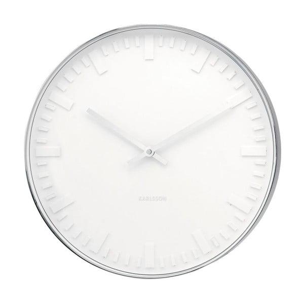 Hodiny Present Time Mr. White Steel