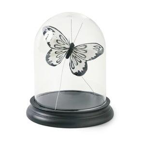 Poklop s čiernym dreveným podnosom Miss Étoile Bell, výška 18 cm