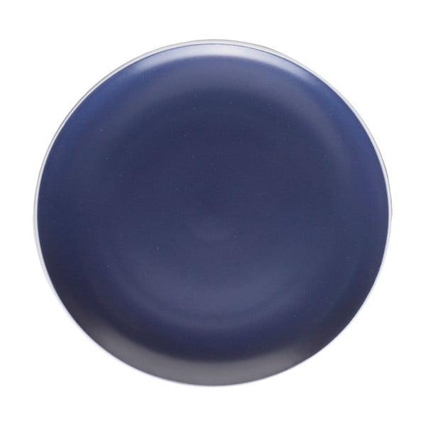 Tmavomodrý tanier Mason Cash Classic Collection, ⌀ 26,5 cm