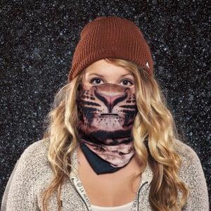 Lyžiarska maska Beardo Leopard