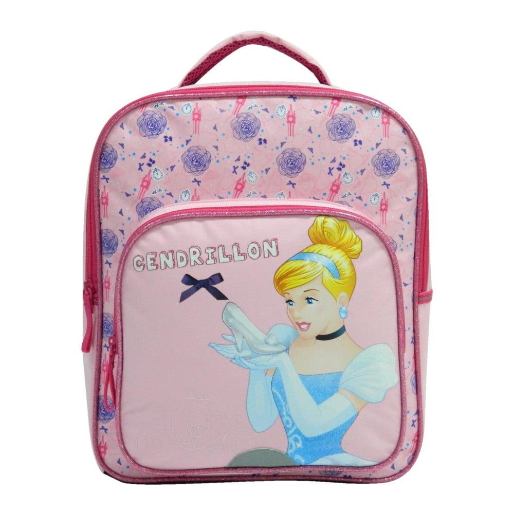 Ružový školský batoh Bagtrotter Cendrillon
