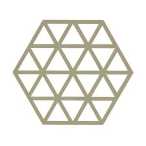 Zelená podložka pod horúce nádoby ZONE Triangles